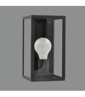Cube Aplique E27 Antracita