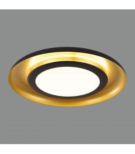 Shiitake Plafón LED 3000K Negro/Oro