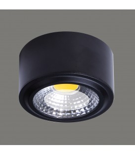PLAFON Studio Plafón/12cm LED 3000K Negro