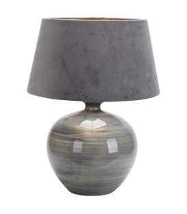 LAMPARA DE MESA SOBREMESA BETTA 1XE27 GRIS BRILLO