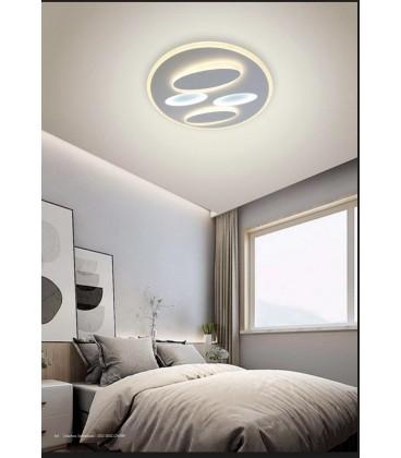 STELLAR Plafón blanco 80w LED cct variable