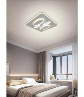 STELLAR Plafón cuadrado blanco 80w LED CCT variable