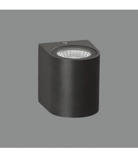 Boj Aplique/8cm LED 3000K Antracita