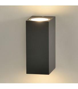 Okra Aplique/15cm LED 3000K Antracita