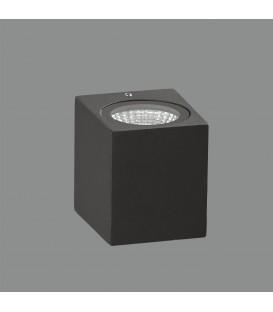 Okra Aplique/8cm LED 3000K Antracita