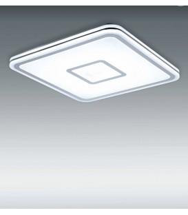 TRON Plafon blanco borde cromo 60w LED CCT variable