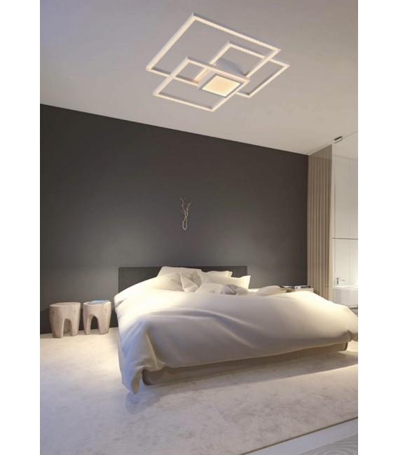 GLITTER Plafón LED blanco 52w