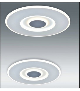 SOLAR plafón blanco y gris 70w LED CCTvariable