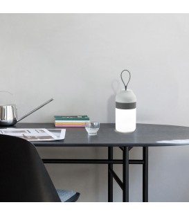 Lámpara de Mesa con Altavoz+Blutooth MOVE Opal/Gris