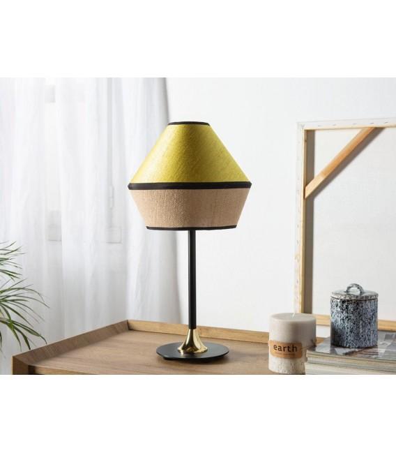 Lámpara de Mesa una luz TOSSA con Pantalla Saco