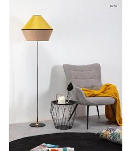 Lámpara de Pie de una Luz con Pantalla de 50CmØ TOSSA