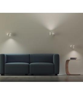 Lámpara de Pared Giratoria IOS GU10 blanco/negro
