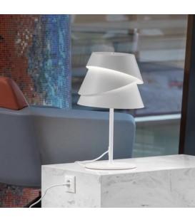 Lámpara de Mesa ALBORAN Acabado Blanco  de MANTRA