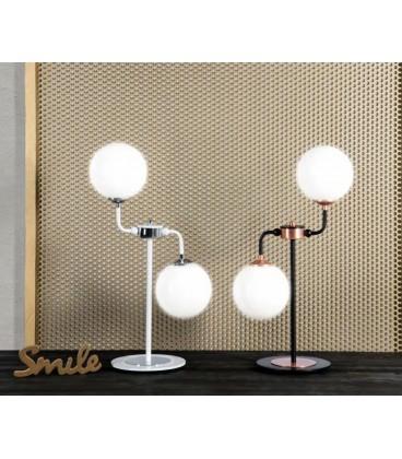 Lámpara de Mesa con dos luces BLOB de Ilusoria