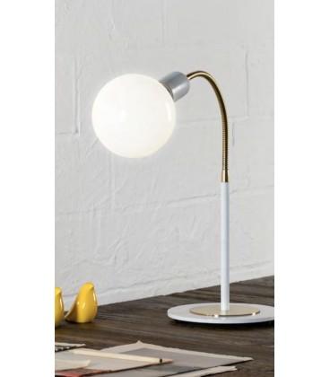 Lámpara de mesa FLEXIBLE con una luz BLOB Ilusoria