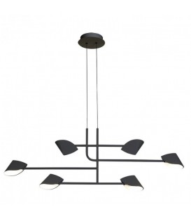 Lámpara Moderna 40w ocho luces CAPUCCINA de Mantra