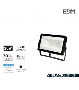 FOCO PROYECTOR LED 20W 6400K 1600 LUMENS EDM