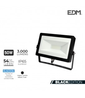 FOCO PROYECTOR LED 50W 6400K 3000 LUMEN EDM