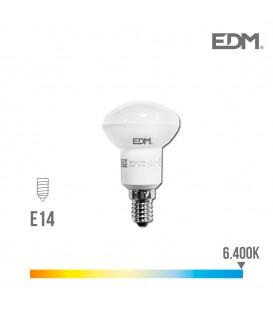 BOMBILLA REFLECTORA LED R50 E14 5W 350 LM 6400K LUZ FRIA EDM