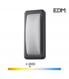 APLIQUE LED 6W 450 LUMENS 4.000K LUZ DIA IP65 RECTANGULAR EDM