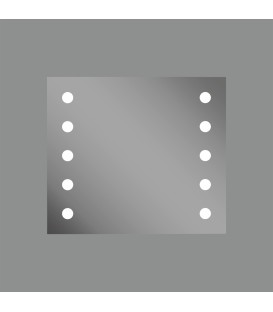 Hollywood Espejo/80cm LED 4000K
