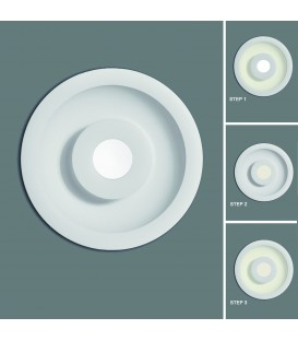 Bios Empotrable/18cm LED 4000K Blanco