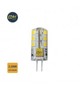 BOMBILLA BI-PIN SILICONA LED G4 12V 2W 180 LM 3200K LUZ CALIDA